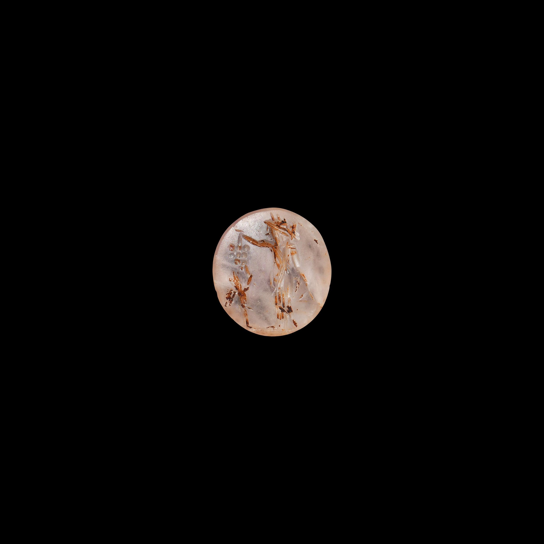 Roman Dionysus Teasing Eros Gemstone