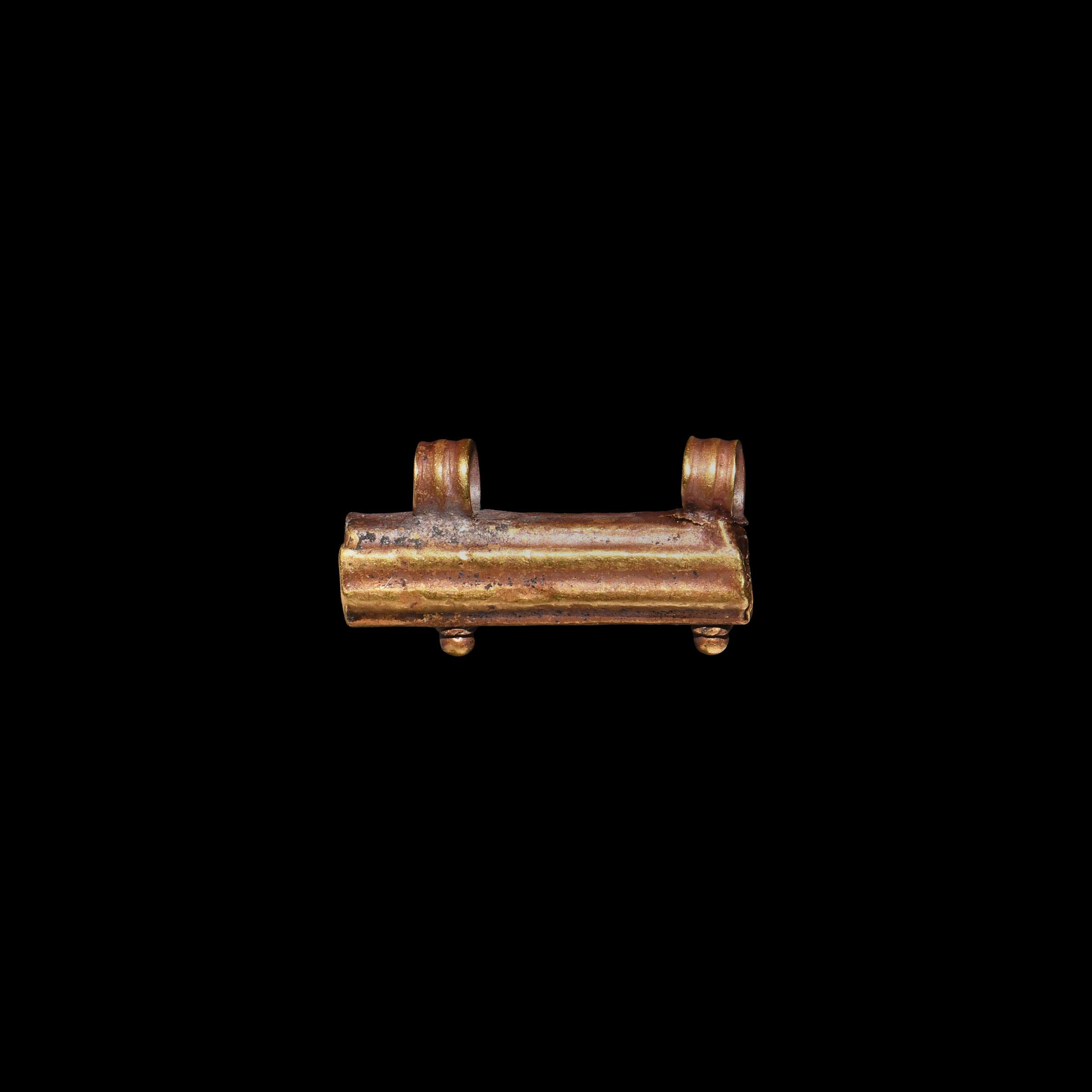 Roman Gold Amulet Case