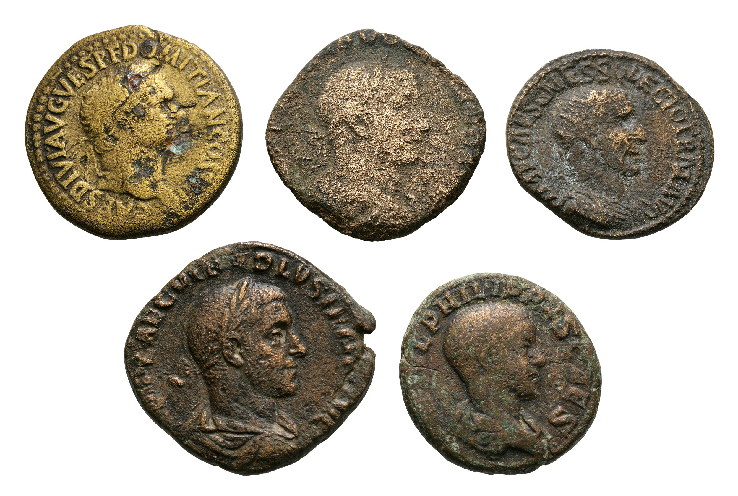 Roman Imperial Coins - Domitian and Later Bronzes [5]