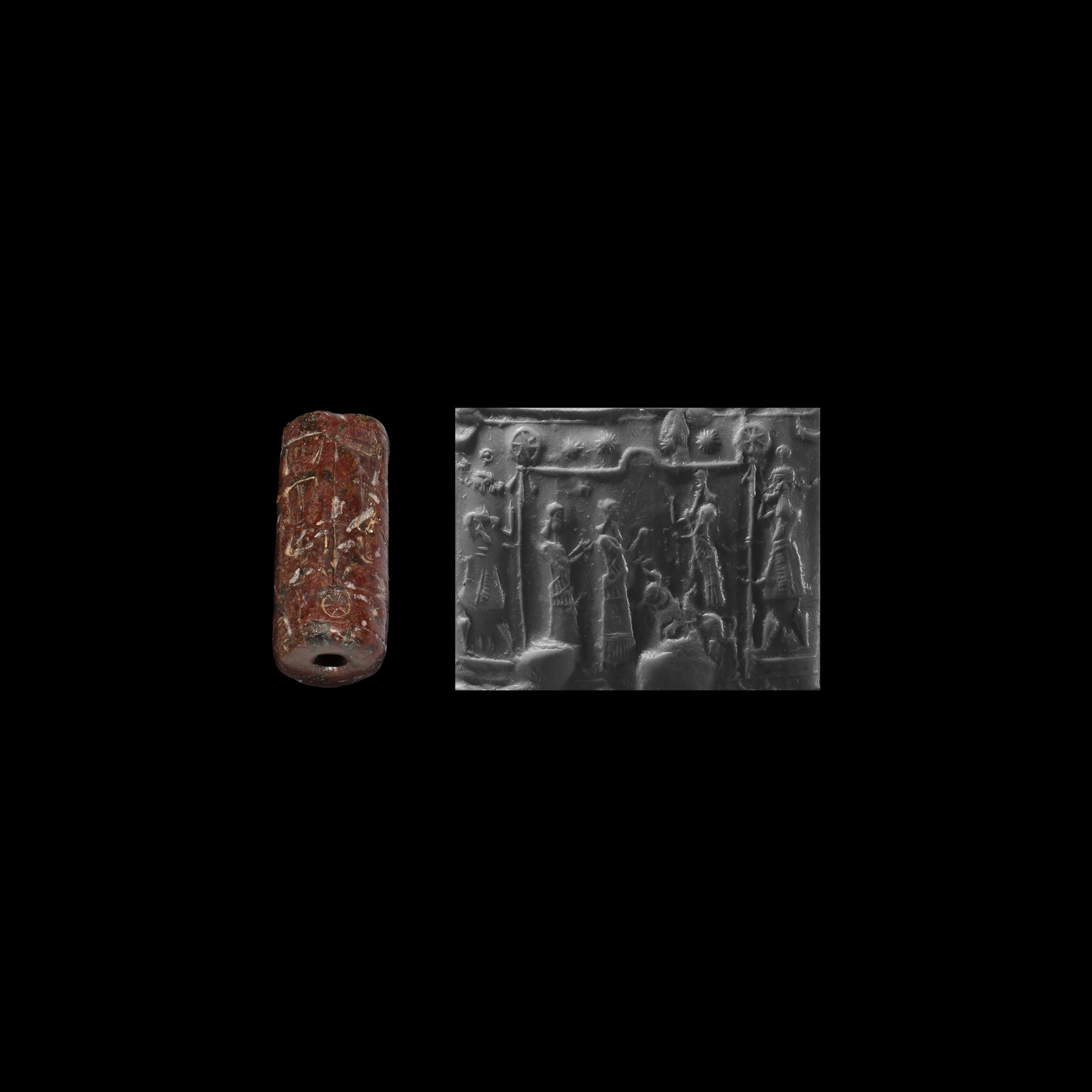 Western Asiatic Neo-Assyrian Cylinder Seal