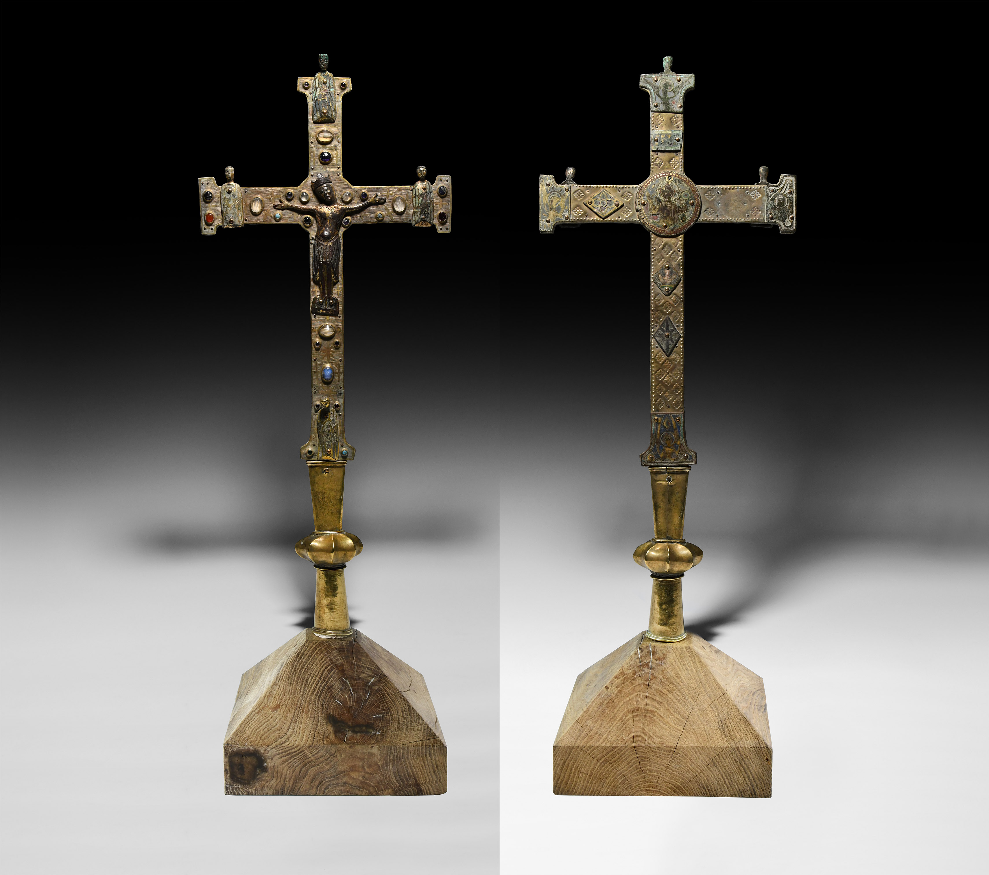 Medieval Limoges Processional Cross