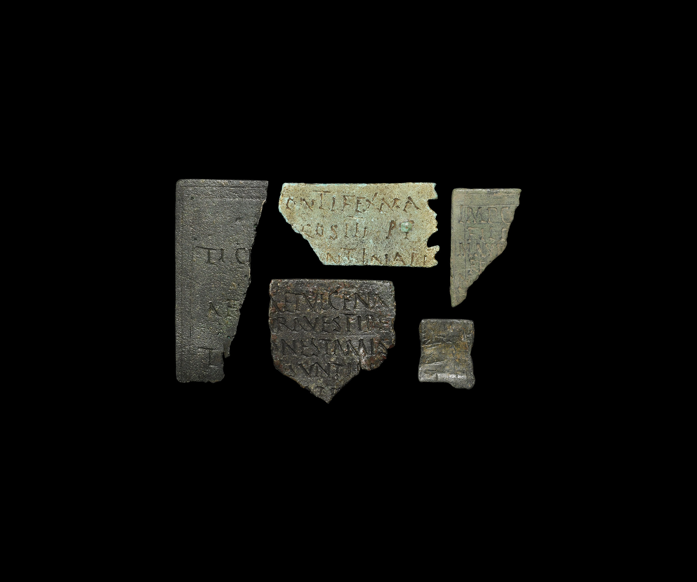 Roman Diploma Fragment Collection