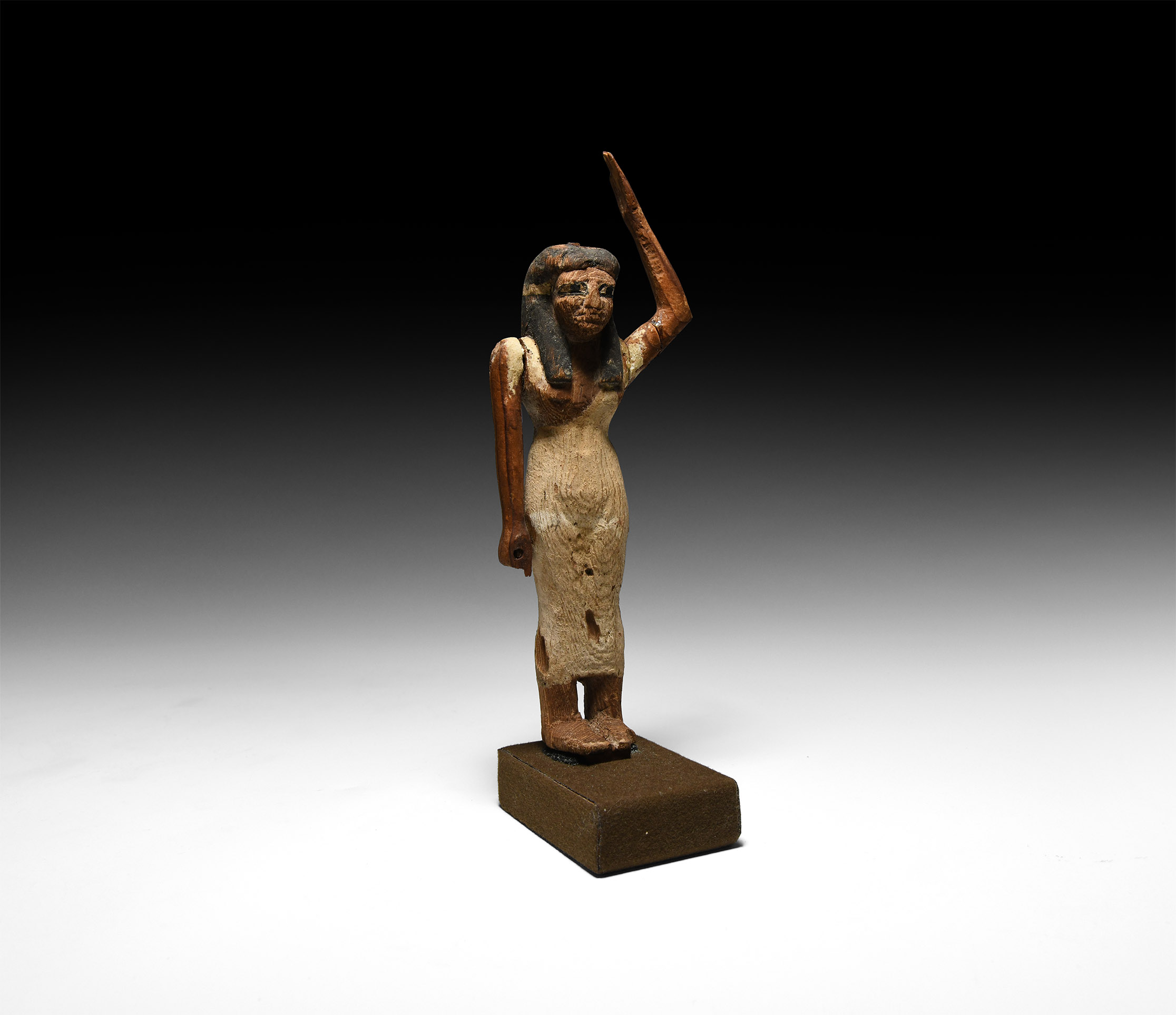 Large Egyptian Female Offering-Bearer Figure