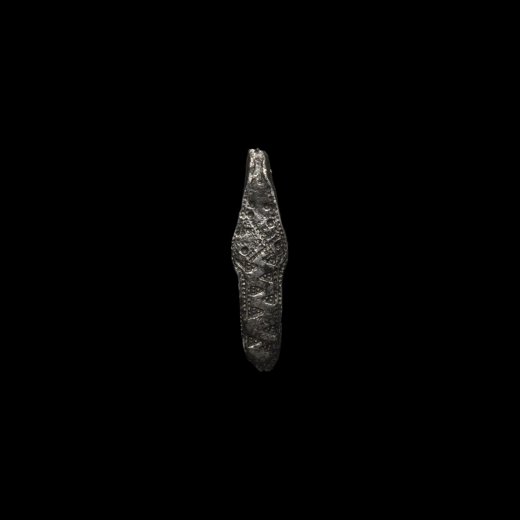 Viking Stamped Silver Ingot