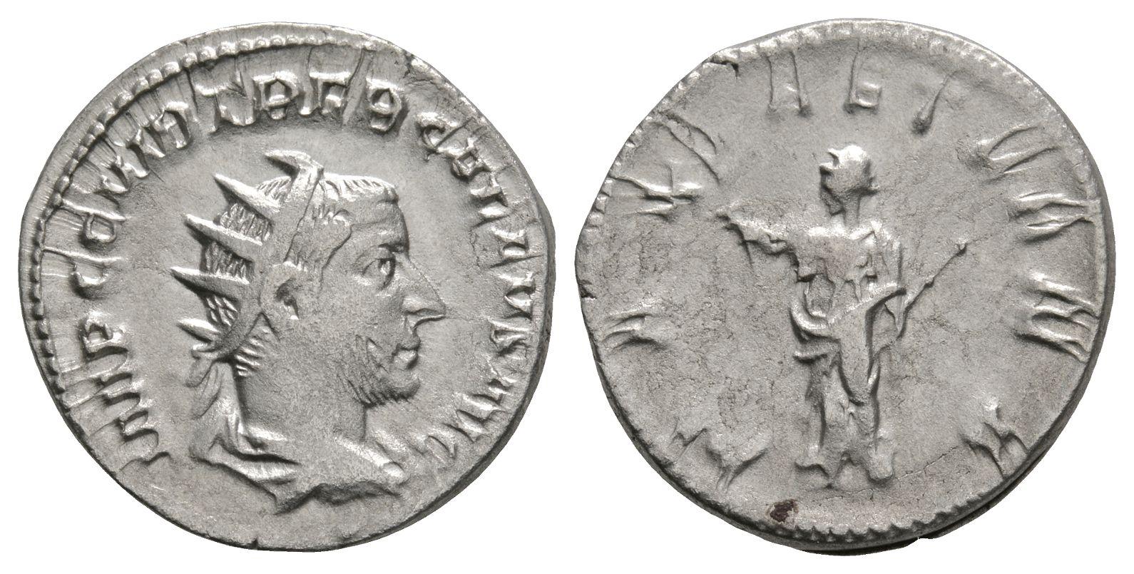 Roman Imperial Coins - Trebonianus Gallus - Pax Antoninianus