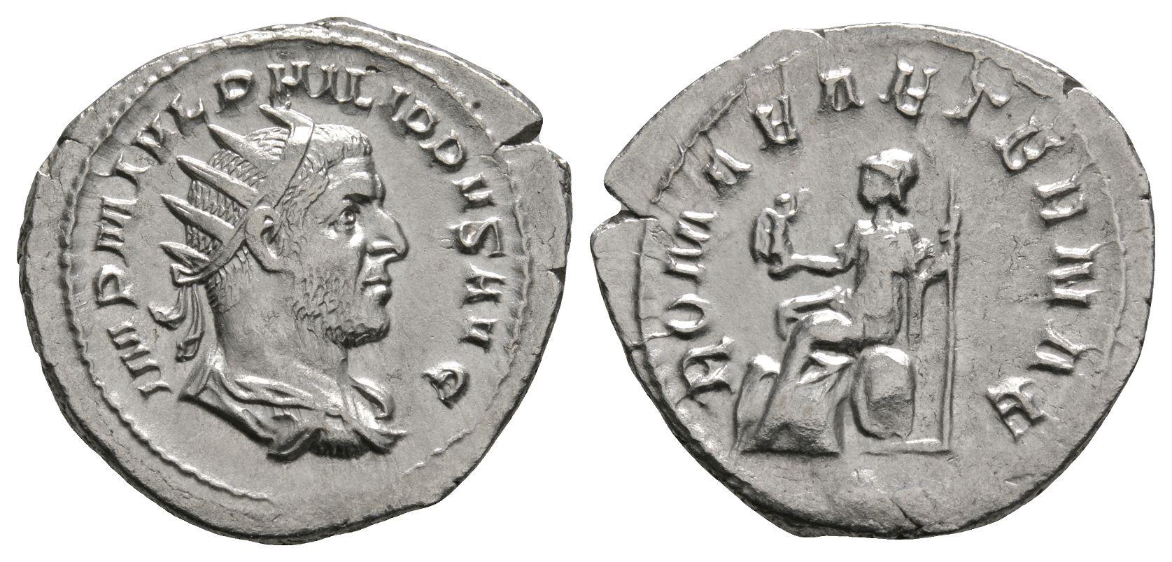 Roman Imperial Coins - Philip I - Roma Antoninianus