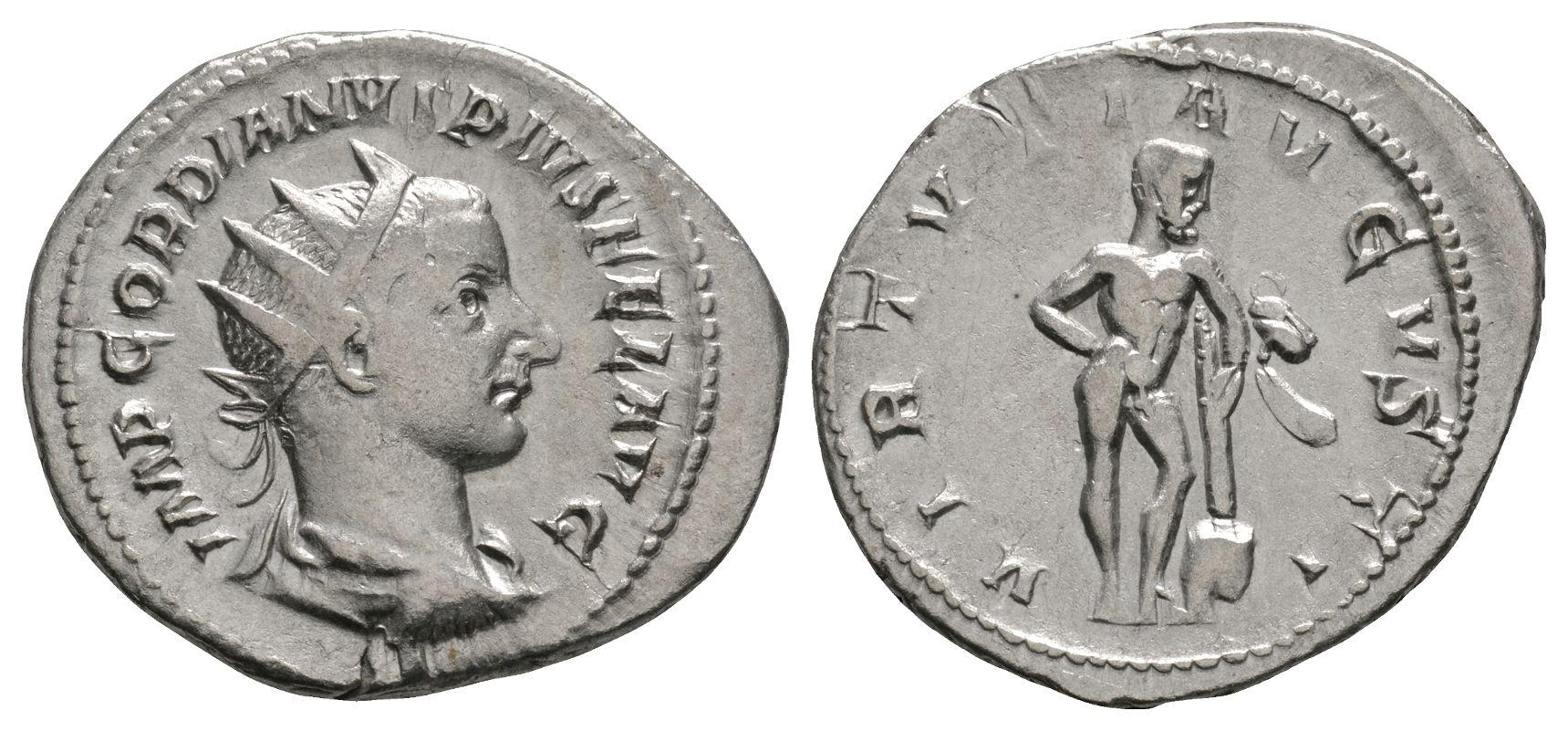 Roman Imperial Coins - Gordian III - Hercules Antoninianus