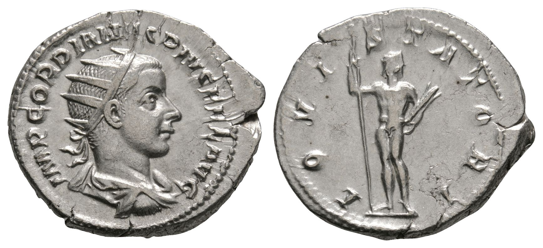 Roman Imperial Coins - Gordian III - Jupiter Antoninianus