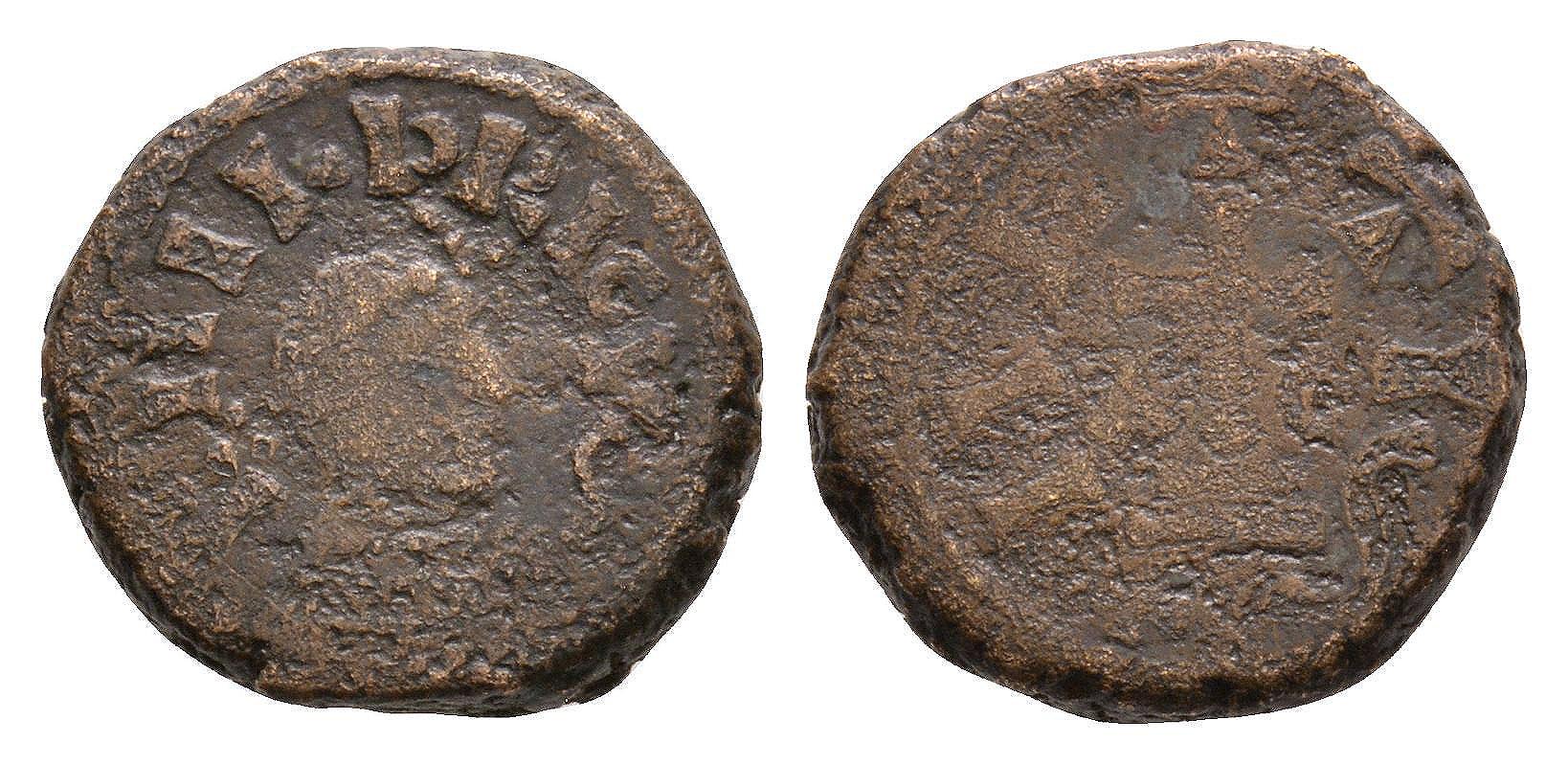 World Coins - Merovingian - Childeric I - Metz(?) - Uncertain Bronze Piece