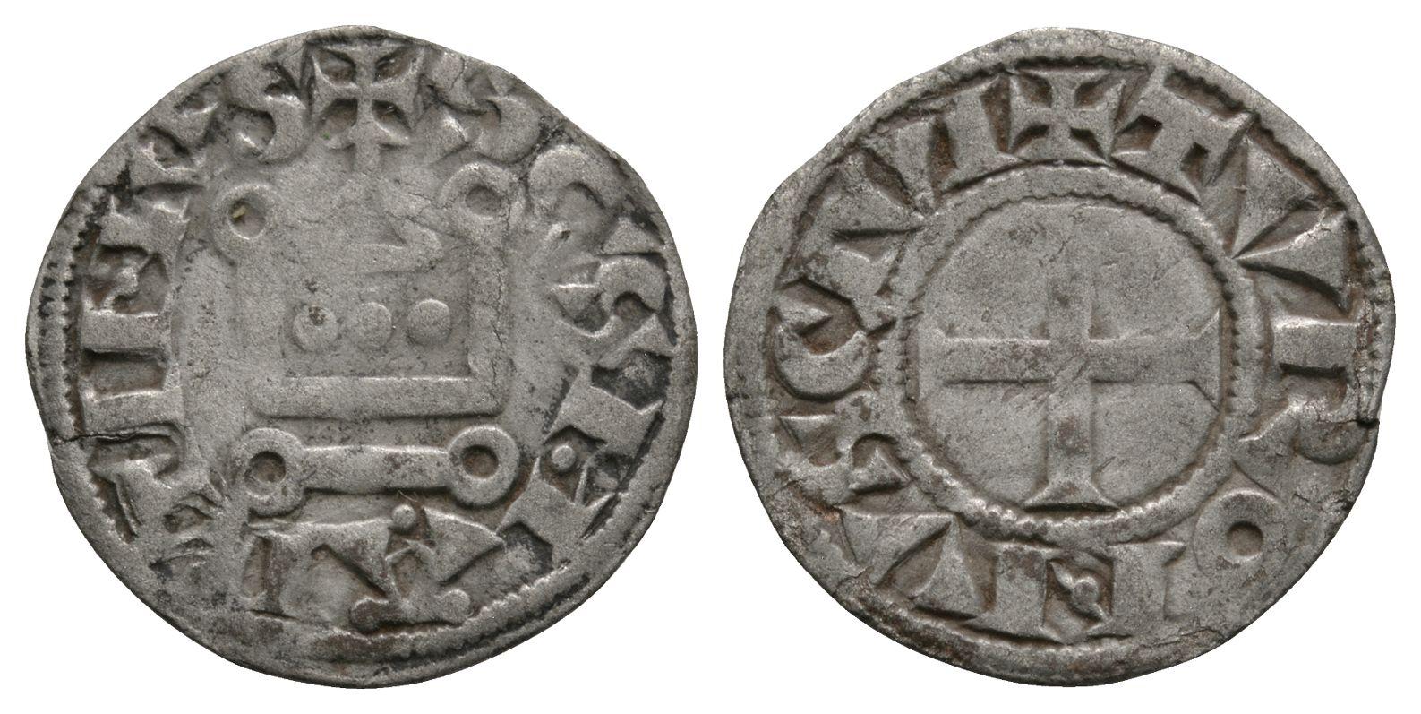 World Coins - France - St Martin de Tours - Chapel Denier Tournois