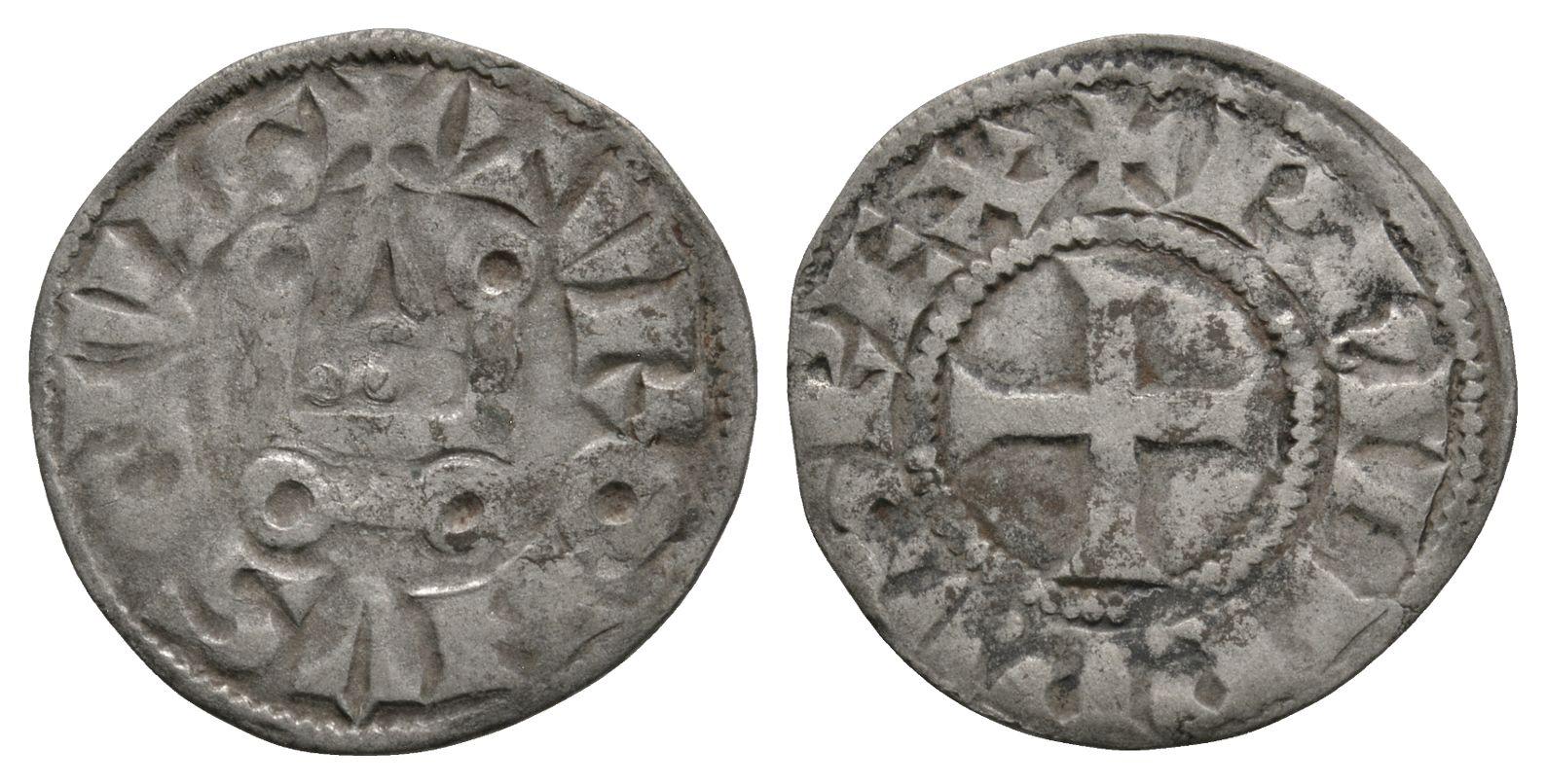 World Coins - France - Tours - Philip IV (the Fair) -  Chapel Denier Tournois
