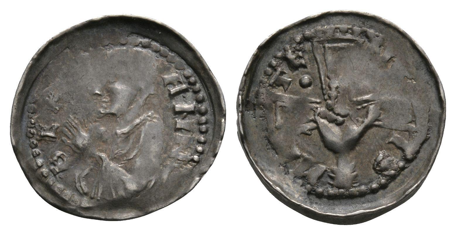 World Coins - France - Metz - Bishop Bertram - Denier