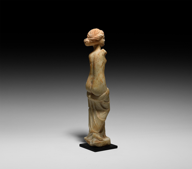 Roman Semi-Nude Venus Statuette