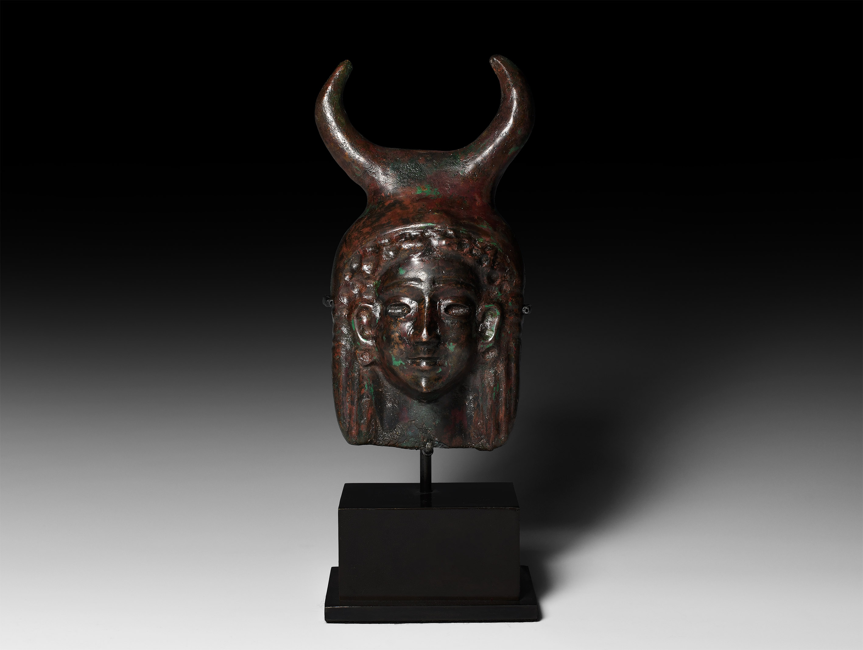 Phoenician Horned Head of Astarte