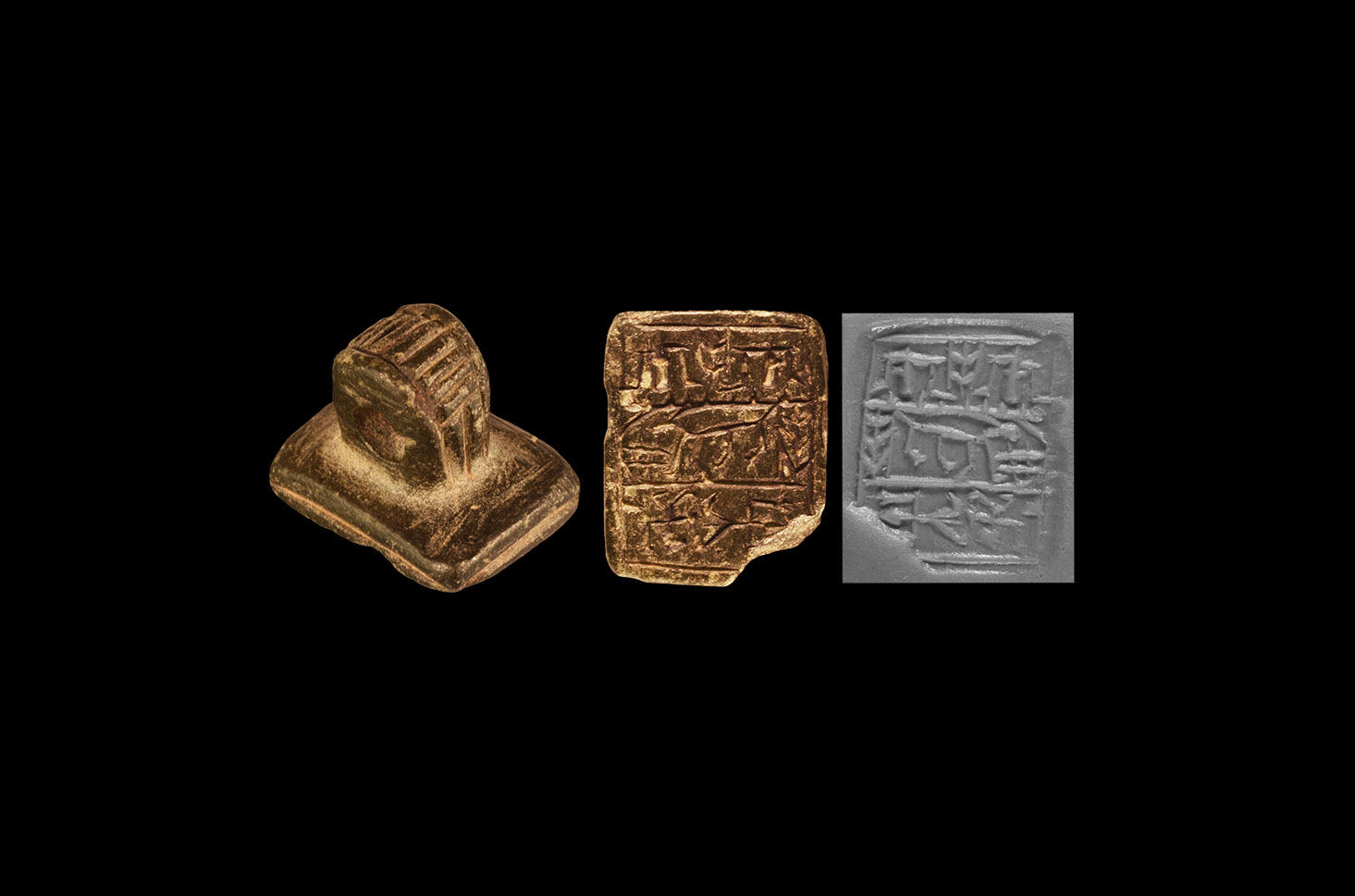 Western Asiatic Stamp Seal Pendant