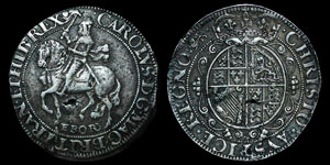 Charles I - York Halfcrown - Lion