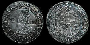 Charles I - Aberystwyth Groat - Book