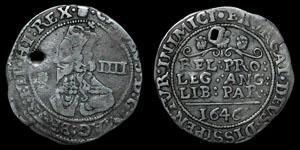 Charles I - Bridgenorth-Upon-Severn Groat - 1646 - Plumelet