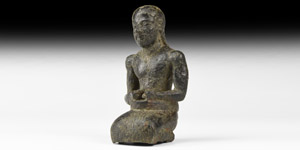 Western Asiatic Statuette of a Kneeling Priest