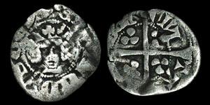 Edward III - Contemporary Forgery - Halfpenny