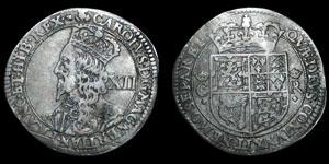 Scotland - Charles I - 12 Shillings