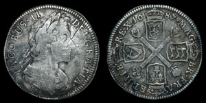 Scotland - James VII - 10 Shillings - 1687