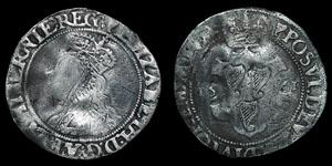 Ireland - Elizabeth I - Shilling - 1561