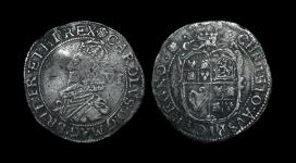 Charles I - Tower Sixpence - Rose