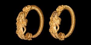 Greek Hellenistic Eros Earrings