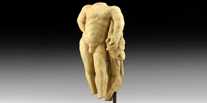 Roman Marble Statue of Hercules