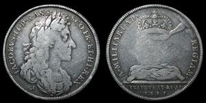 James II - Coronation - Roettiers - 1685