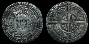 Richard II - Groat - London
