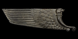 Western Asiatic Carved Eagle Wing Inlay