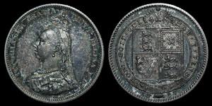 Victoria - Proof Shilling - 1887