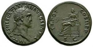 Trajan - Pax Sestertius