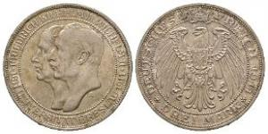 World Coins - German States - Prussia - 1911 A - Breslau University 3 Marks