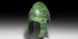 Greek Chalcidian Two-Plate Helmet