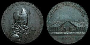Yorkshire - Leeds - Token Halfpenny - 1793