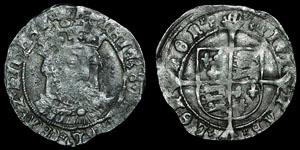 Henry VIII Posthumous - Facing Groat - Southwark