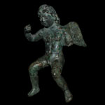 Roman - Bronze Winged Eros Figure