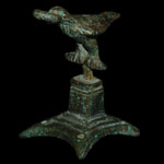 Roman - Bronze Eagle with Wreath