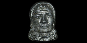 Byzantine - Silver Mount - Female Bust