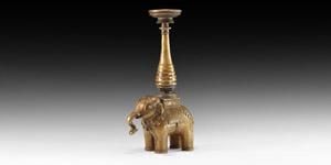 Elephant Candlestick