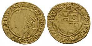 English Stuart Coins - James I - Gold Muled Mintmarks Quarter Laurel (5 Shillings)