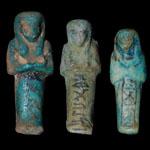 Egypt - Three Shabti Figurines