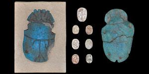 Egypt - Nine Scarabs