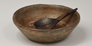 English Medieval - Sycamore Bowl and Spoon