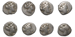 Ancient Greek Coins - Mixed Silvers Group [8]
