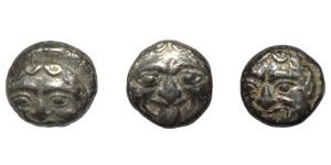Ancient Greek Coins - Mysia - Parion - Gorgoneion  Units [3]