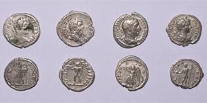 Ancient Roman Imperial Coins - Severan Denarii Group [4]